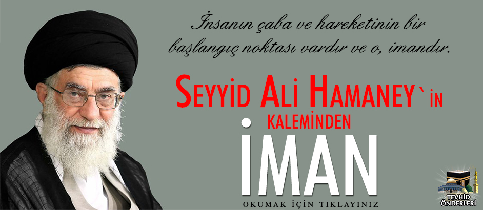 Photo of Seyyid Ali Hamaney'in Kaleminden İman